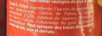Surf chips - Ingredients