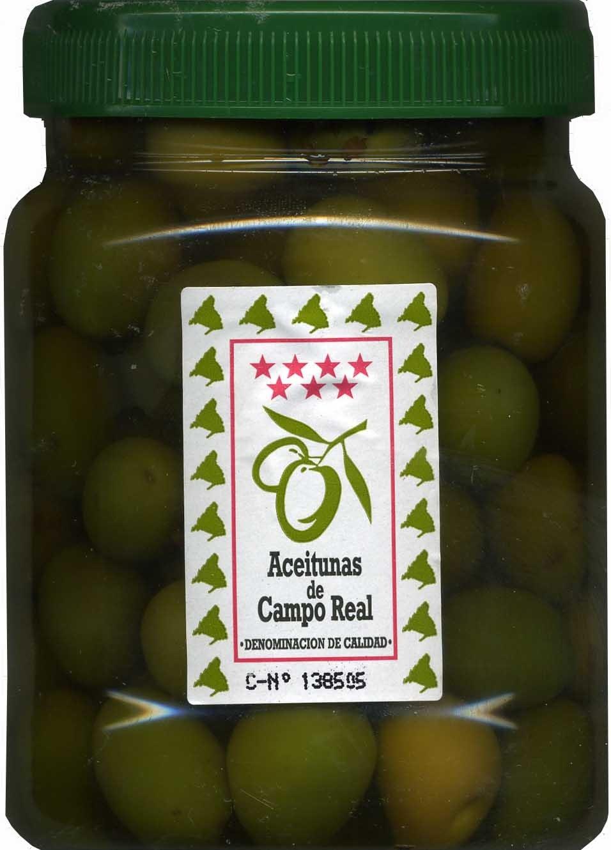 Aceitunas verdes enteras Variedad Cacereña - Producto
