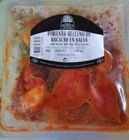 Pimiento relleno de bacalao en salsa - Producte - es