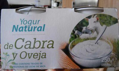 Yogur natural de cabra y oveja