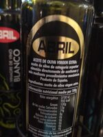 Aceite de oliva virgen extra - Ingrédients - es