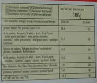 Disney Planes Fire & Rescue - Informations nutritionnelles - fr