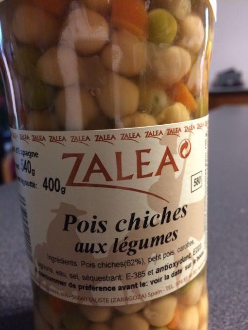 Pois Chiches Aux Legumes - Produit