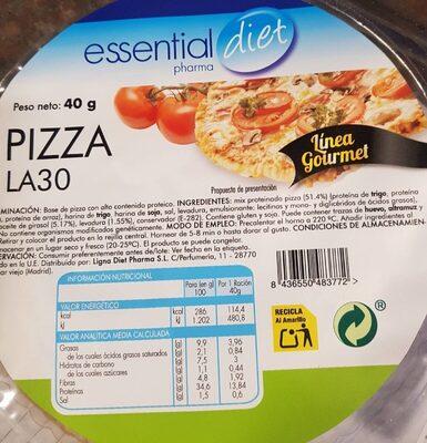 Pizza - Producto - es