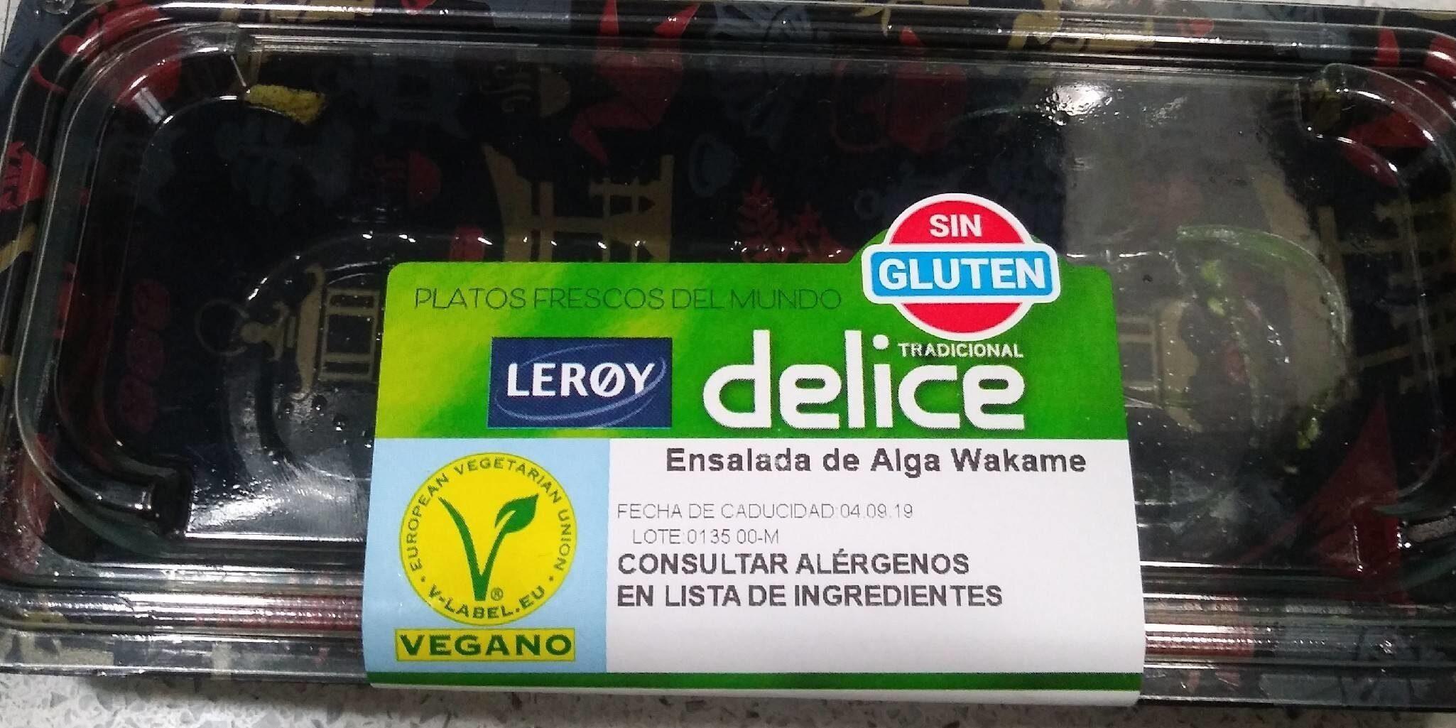 Ensalada alga wakame - Producte