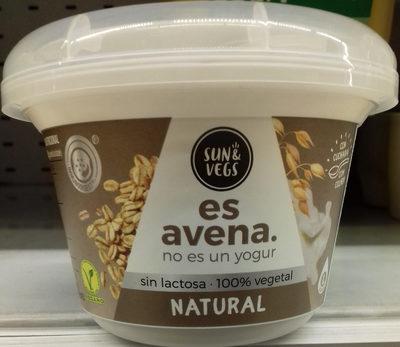 Es avena natural - Producto