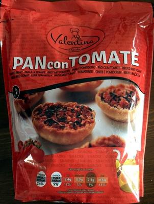 Pain con tomate origan - Produit - fr