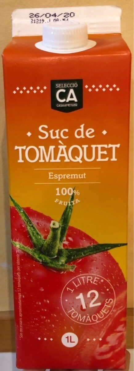 Suc de Tomàquet - Produit - es