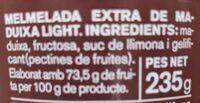 Mermelada de maduixa - Ingredientes - ca