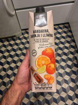 Mandarina taronja i llimona - Producto