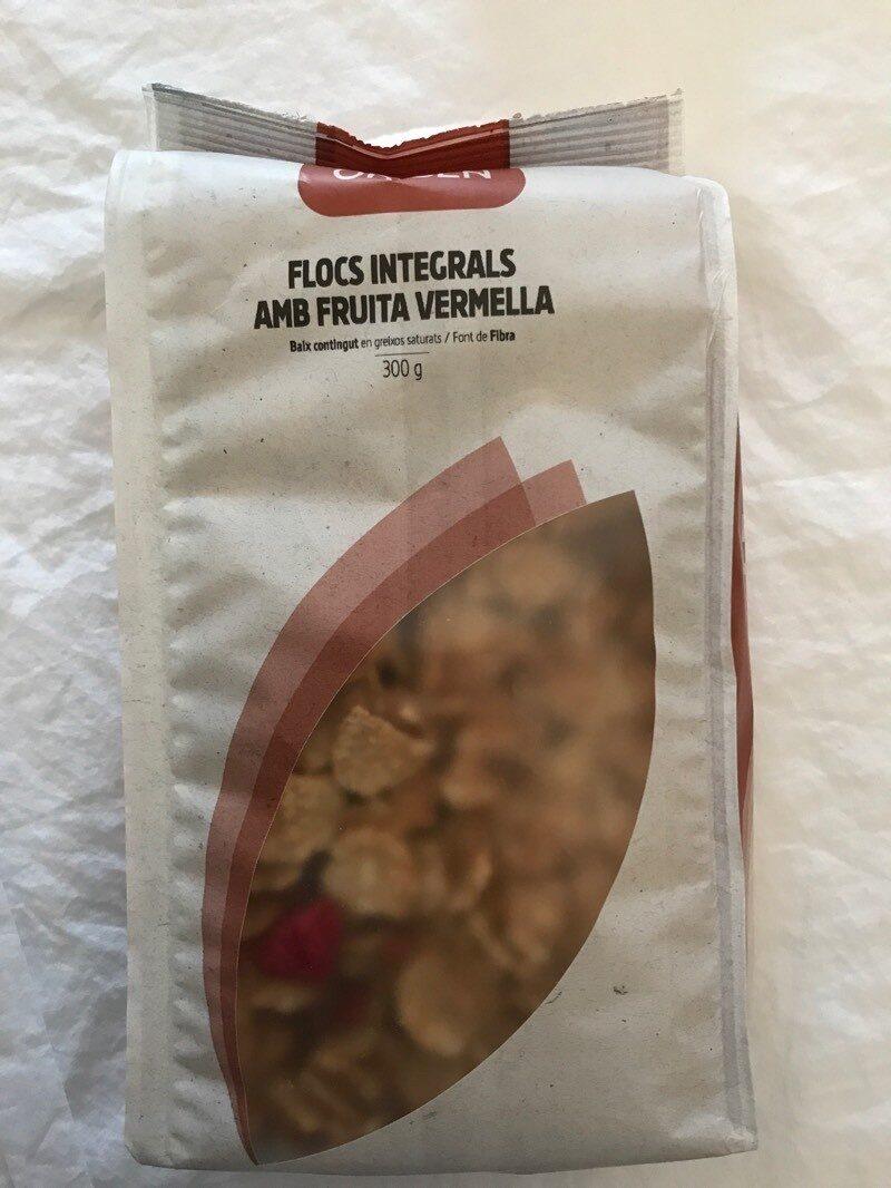 Flocs integrals amb fruita vermella - Product