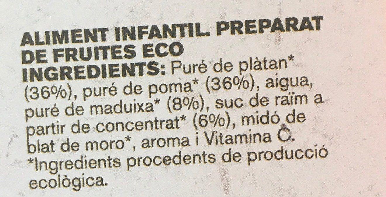 Diverfruit - Ingrédients