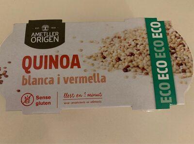Quinoa blanca y vermella