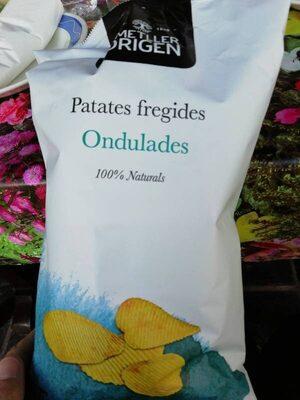 Patates fregides ondulades