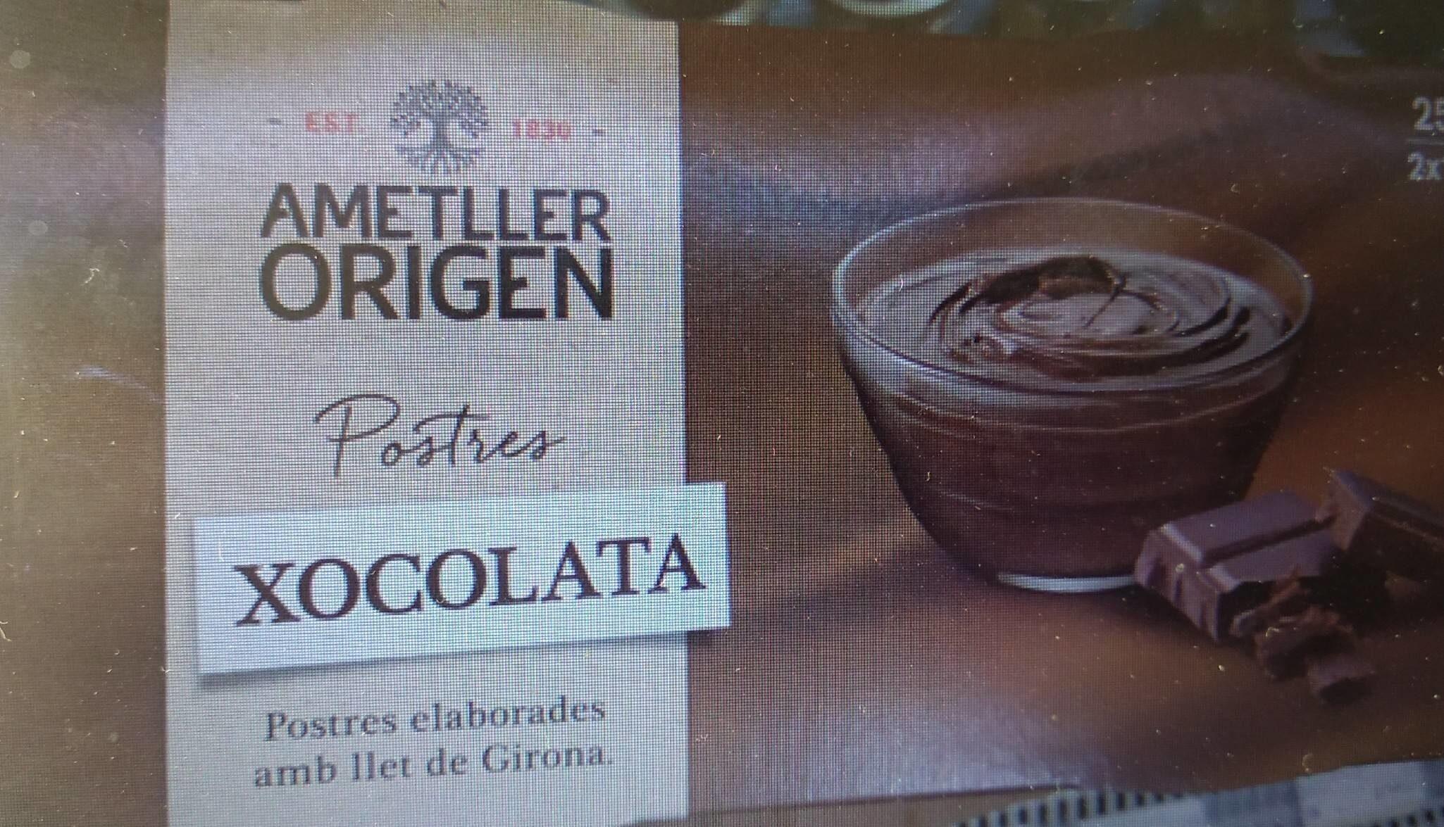 Postres xocolata - Product