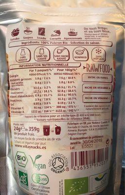 Paprika Crunch - Ingrédients - fr