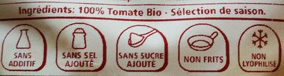 Tomate croustillante bio - Ingredients