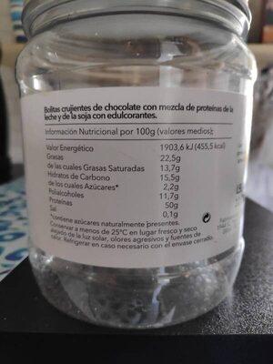 Protein crunch - Voedigswaarden