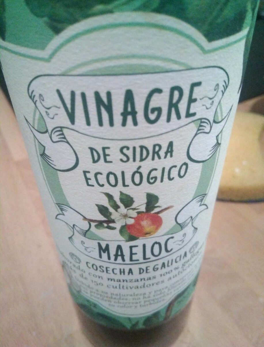 Vinagre de sidra ecológico - Producte - es
