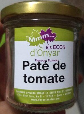Paté de tomate - Product - es