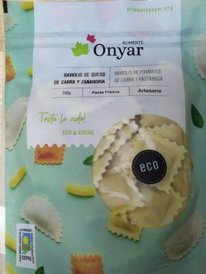 Raviolis queso de cabra y zanahoria - Product - es