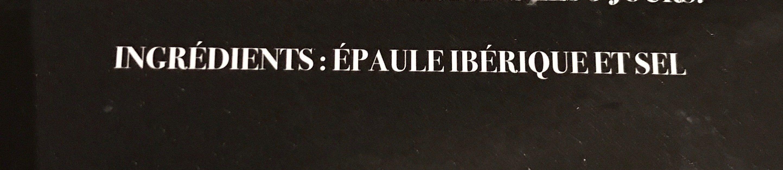Epaule ibérique de cebo - Ingrediënten - fr