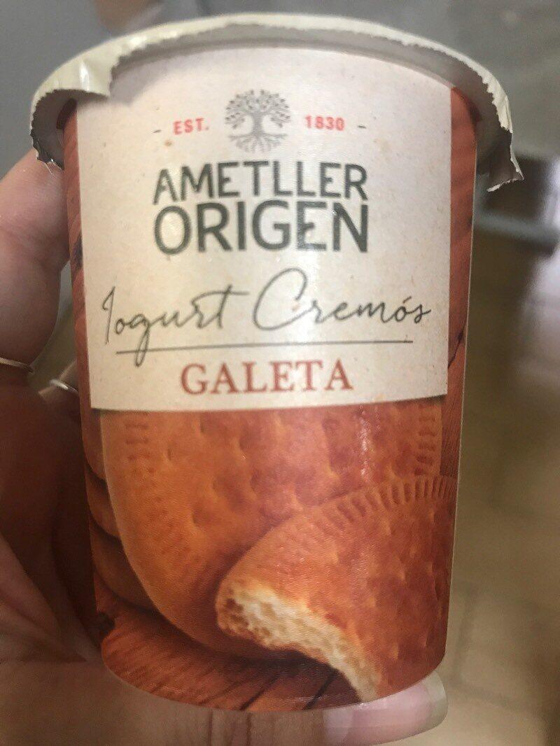 Iogurt Cremós Galeta - Product