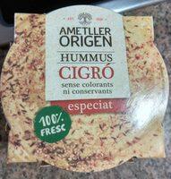 Hummus cigro - Produit