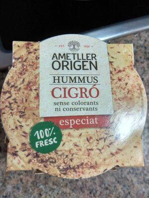 Hummus Cigró especiat - Product