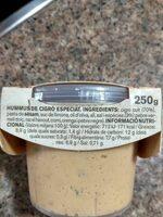 Hummus Cigró especiat - Ingredients