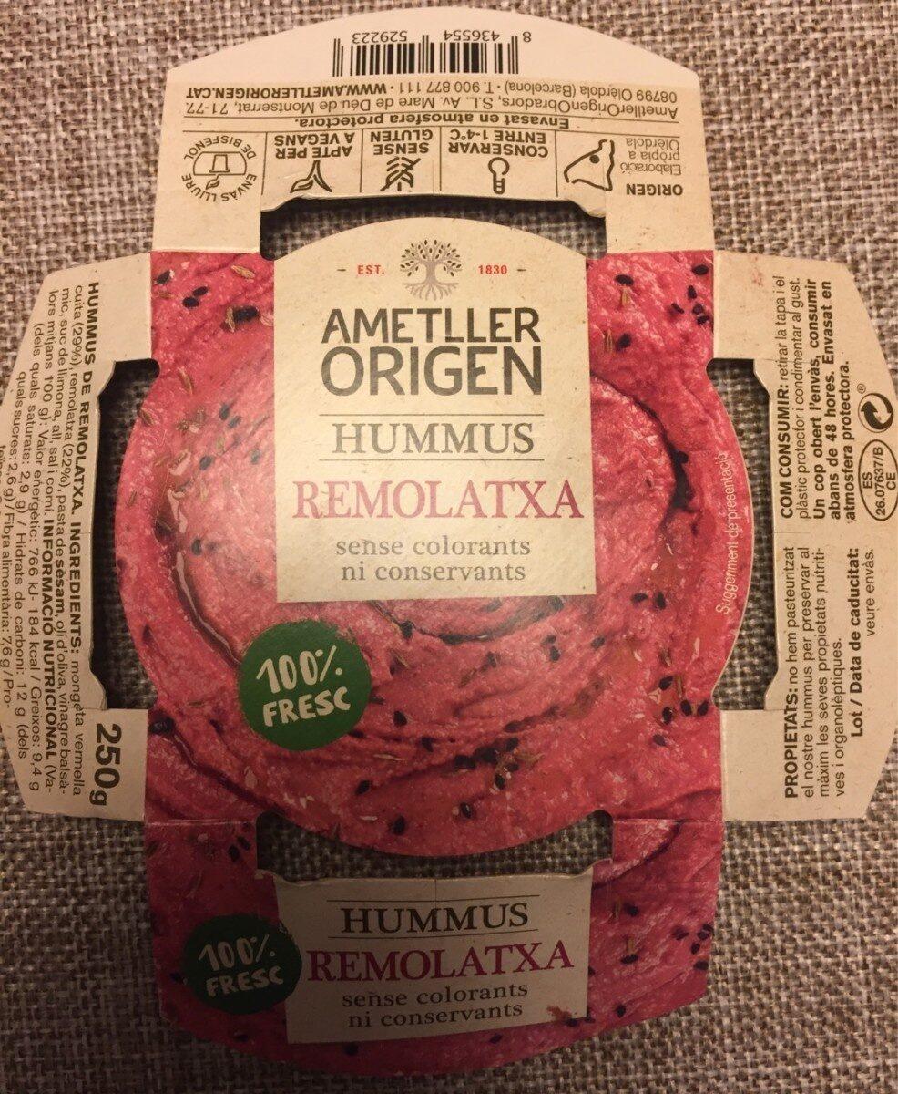 HUMMUS REMOLATXA - Producto