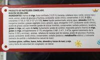 Roscón de reyes - Nutrition facts
