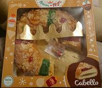 Roscón de Reyes relleno de cabello - Producte