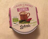 Yogur casero con quinoa - Producto