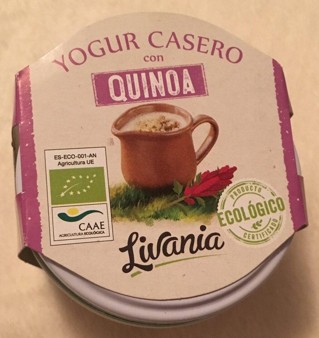 Yogur casero con quinoa - Producto - es