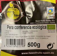 Pera conferencia ecologica - Product - es