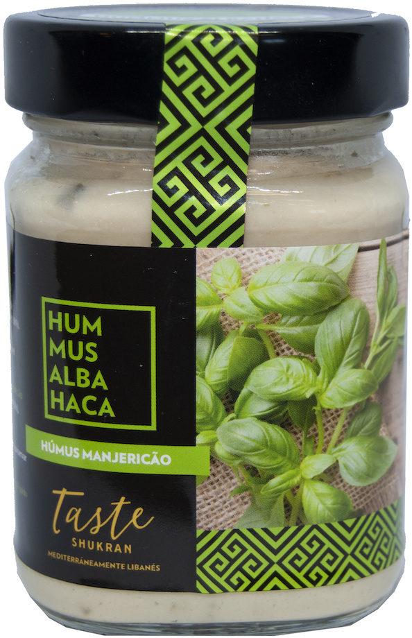 Hummus Taste Shukran Albahaca - Produit