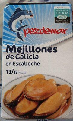 Mejillones de Galicia en escabeche - Product - es