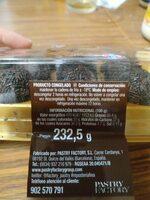 Trufas de chocolate - Informations nutritionnelles