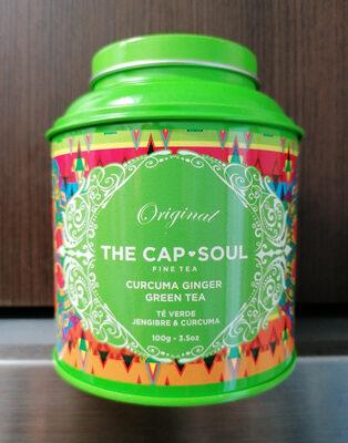 Té verde, jengibre y cúrcuma - Producto - es