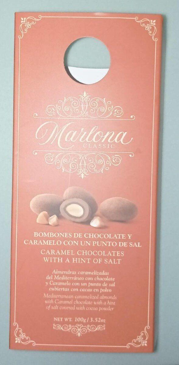 bombones de chocolate y caramelo con un punto de sal - Produit - es