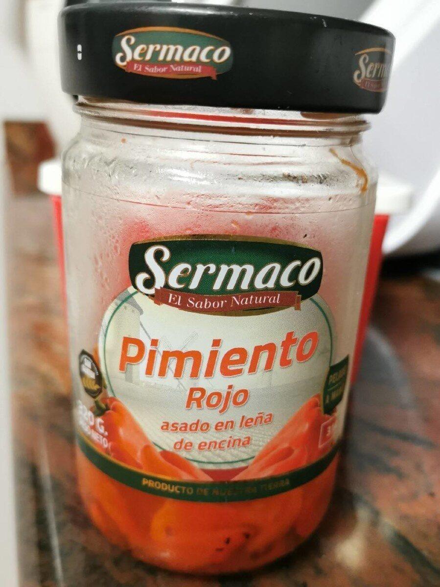 Pimiento rojo asado en leña de encina - Produit - es