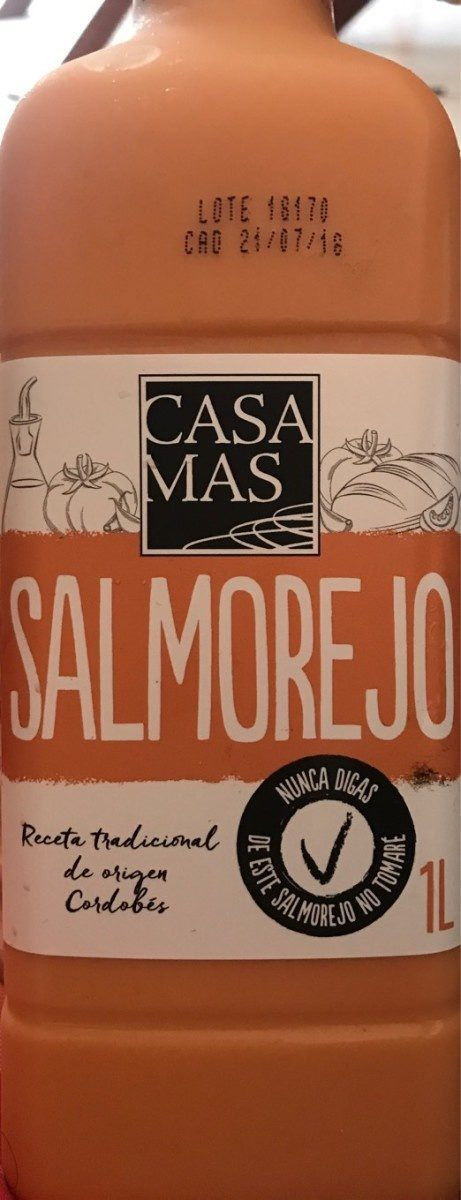 Salmorejo - Producte