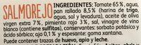 Salmorejo - Ingredientes