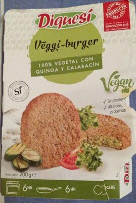 Veggie Burguer - Product - es