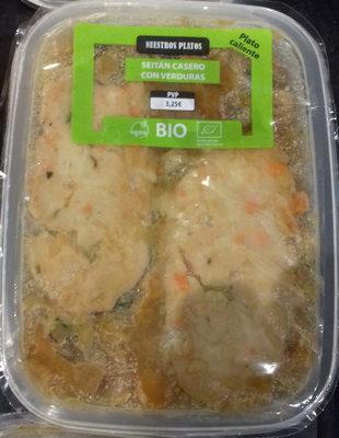 Seitan casero con verduras - Product