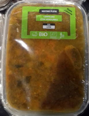 Lentejas con verduras - Product