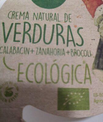 Crema Natural de Verduras