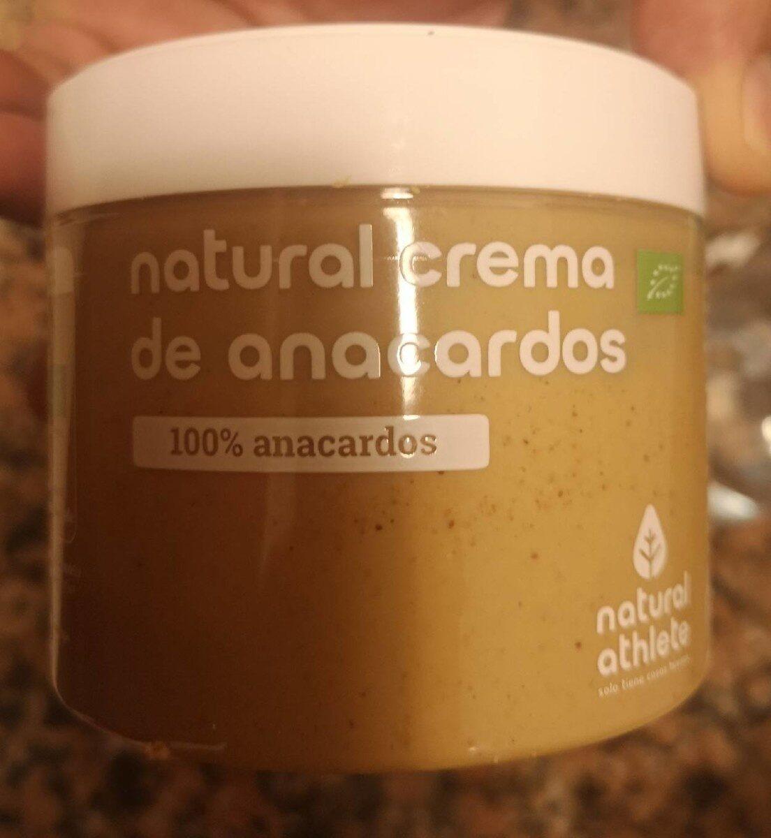 Crema de anacardos - Producto - es