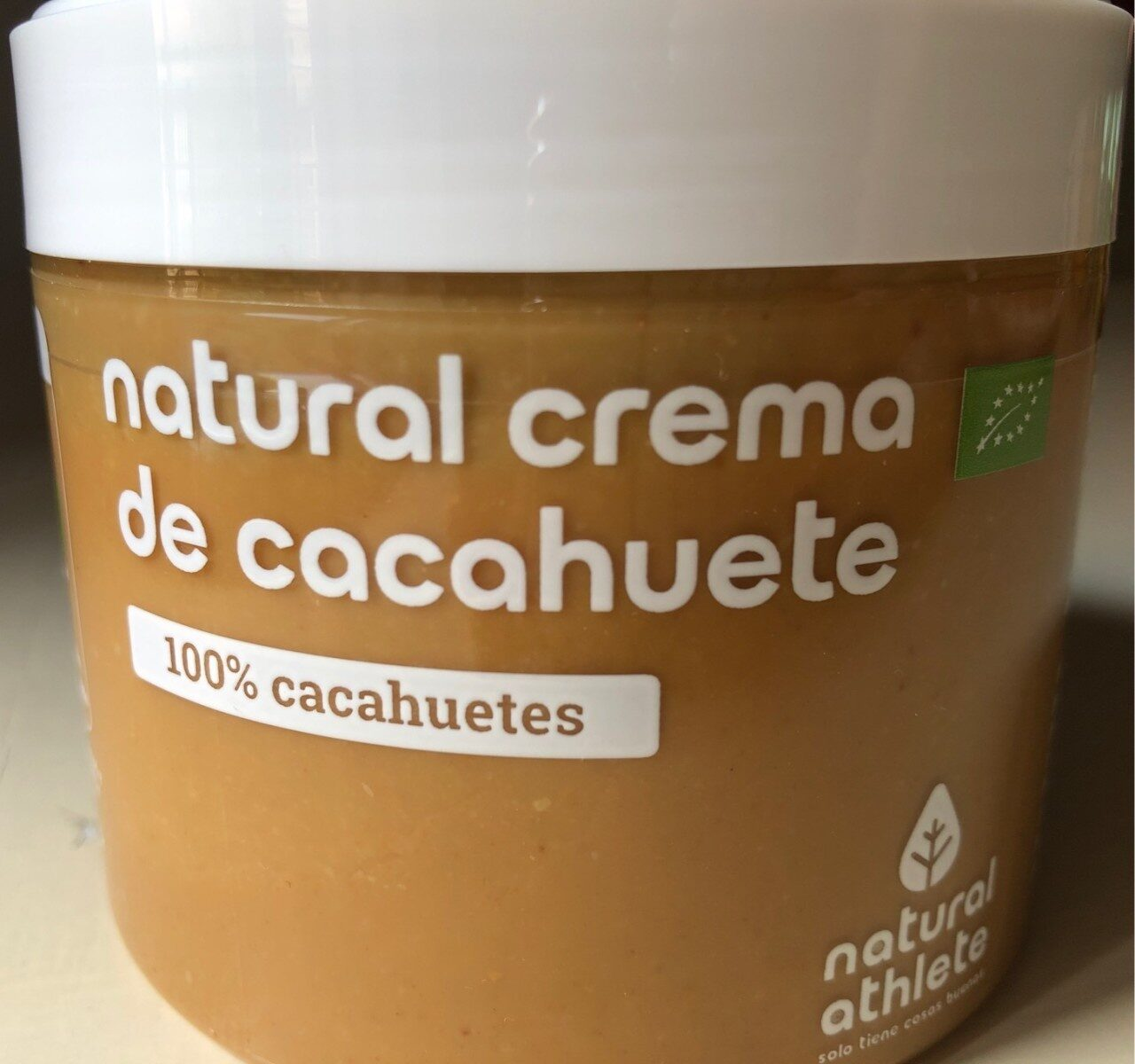 Natural Crema de Cacahuete - Producto